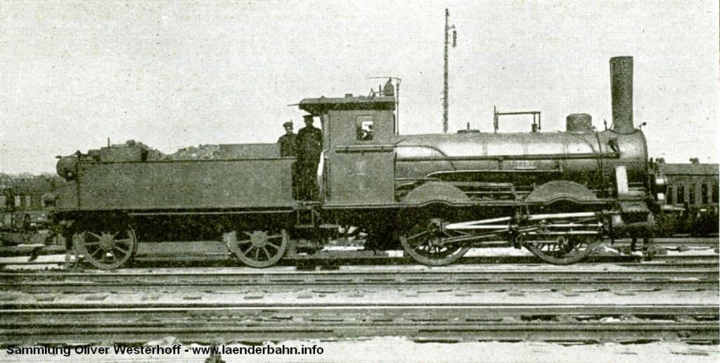"""Die Nummer 36 """"LEDA"""" wurde unter der Fabriknummer 32 von Hohenzollern gebaut. Im Vorläufigen Umzeichnungsplan noch für die Nummer 51 7010 vorgesehen, wurde sie jedoch zwischen 1923 und 1925 ausgemustert."""