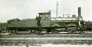 """Die Nummer 36 """"LEDA"""" wurde unter der Fabriknummer 32 von Hohenzollern gebaut."""