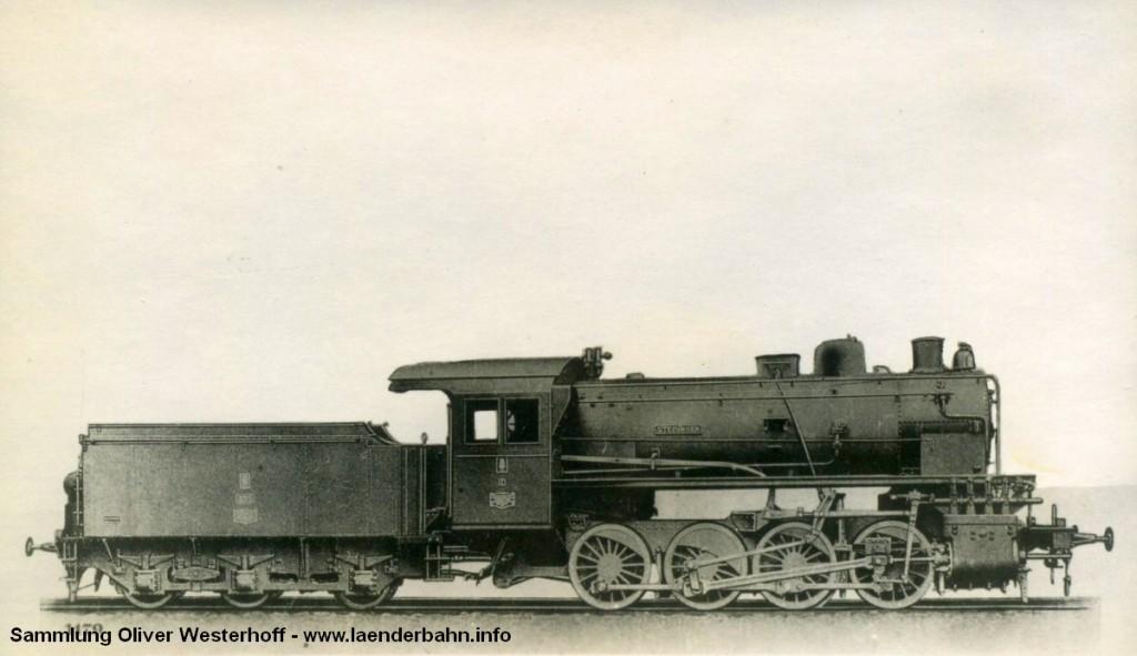 """Die Lokomotive Nr. 235 """"STEDINGEN"""", gebaut 1912 bei HANOMAG unter der Fabriknummer 6527"""