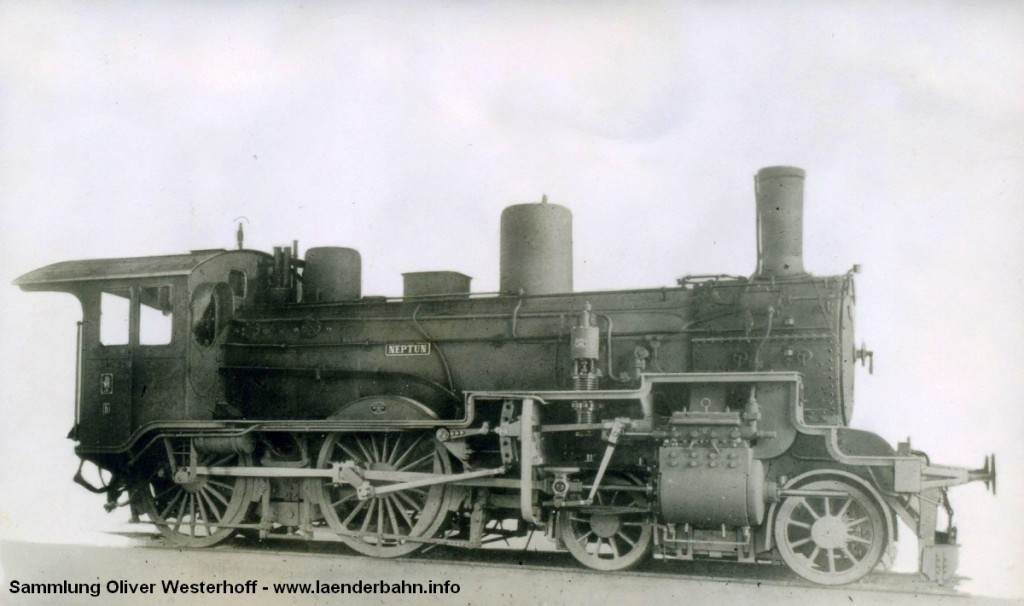 "P 4.2 Nr. 190 ""NEPTUN"", gebaut 1909"