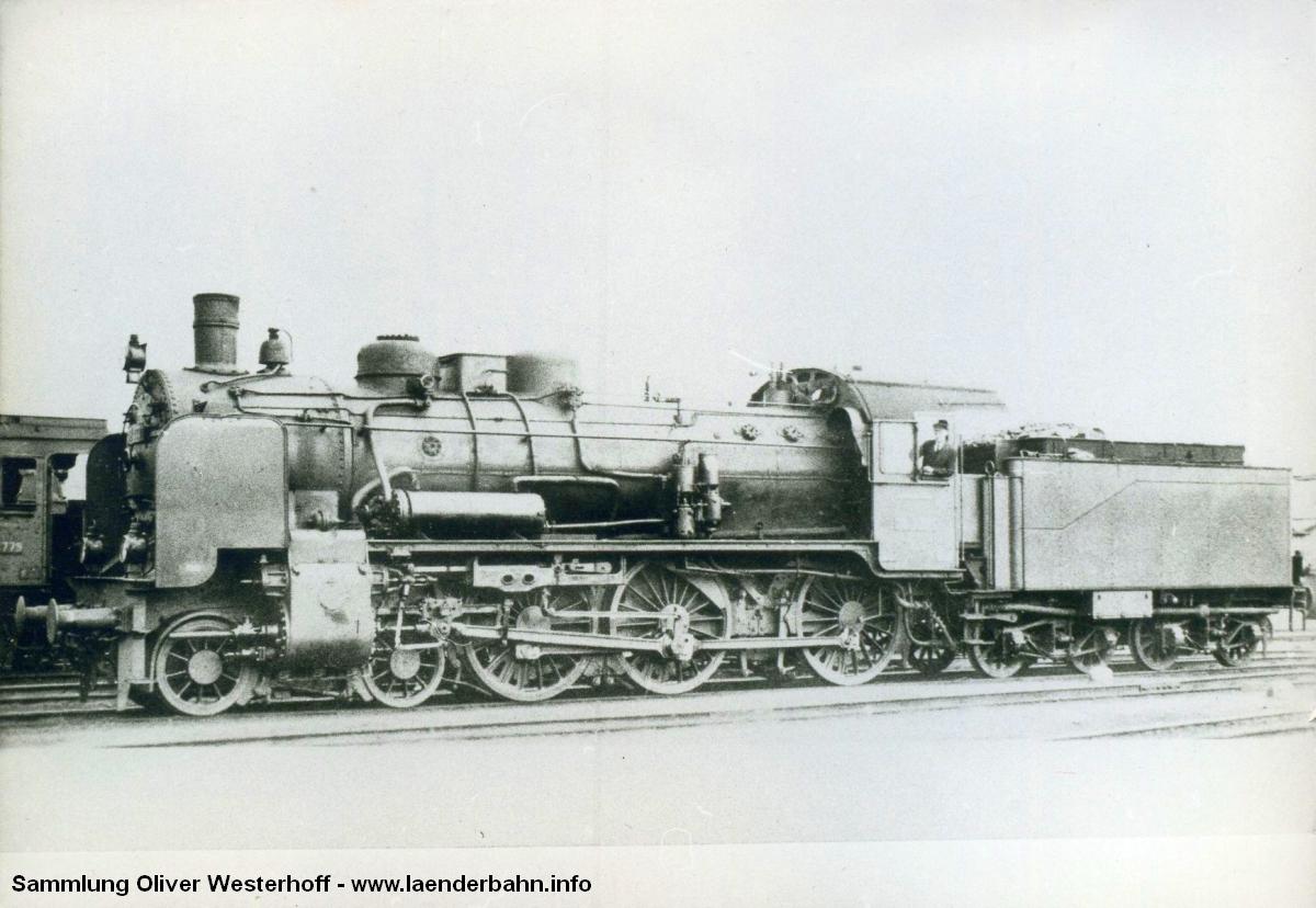Die P 8 Nr. 291, spätere 38 3391
