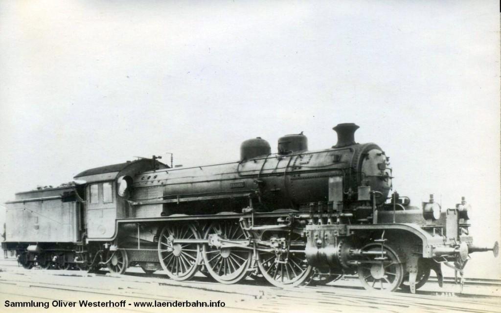 """Die Lokomotive Nr. 266 """"BERLIN"""", gebaut 1916 bei HANOMAG unter der Fabriknummer 8000"""