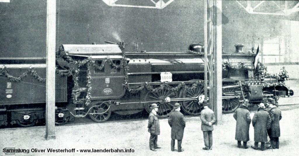 """Die oldenburgische S 10 Nr. 266 """"Berlin"""" bei der Übergabe an die G.O.E. in Hannover."""