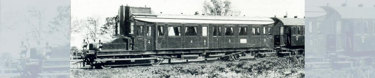 Oldenburgischer Triebwagen: Ein Sonderling ist der Benzolelektrische Triebwagen der G.O.E. von 1911