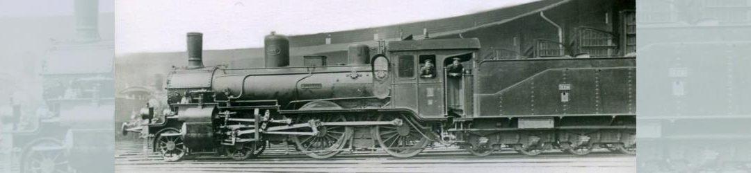 """Oldenburgische P 4.2: Die Lokomotive Nr. 178 """"JUPITER"""" im Betriebswerk"""