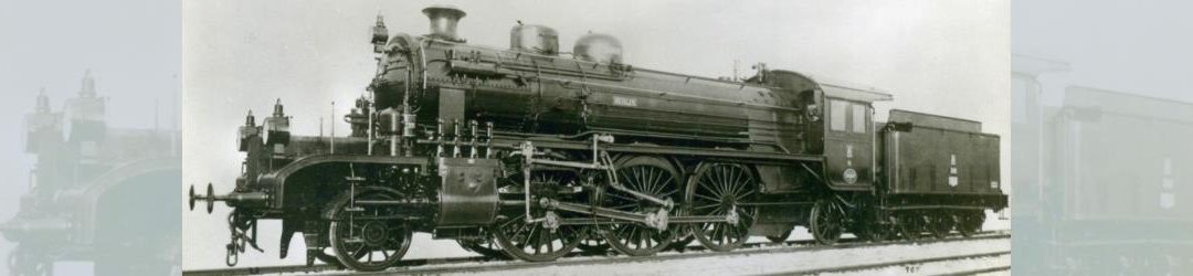 """Oldenburgische S 10: Die Lokomotive Nr. 266 """"BERLIN"""", gebaut 1916 bei HANOMAG unter der Fabriknummer 8000"""