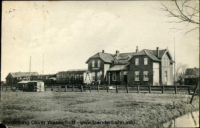 Bahnhof Hohenkirchen im den 1930er Jahren