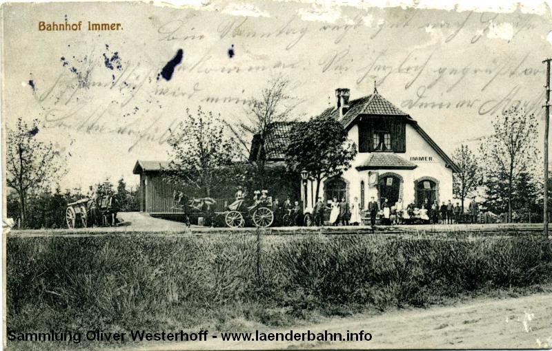Immer war ein beliebtes Ausflugsziel im oldenburgischen.