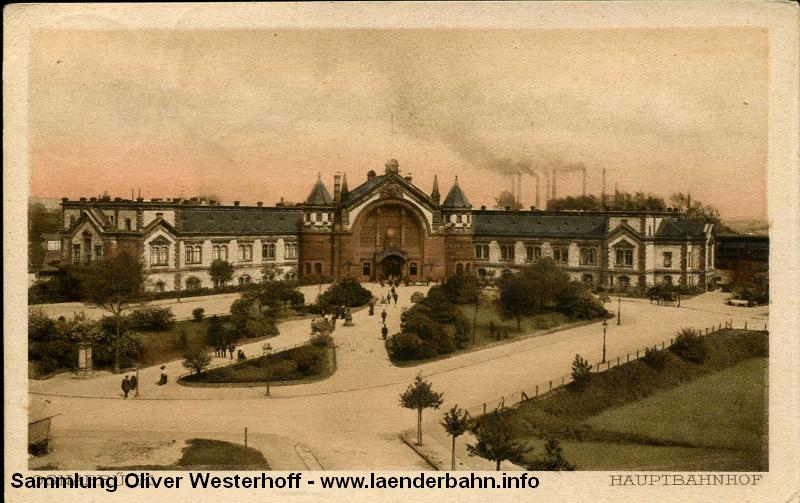 Bahnhof Osnabrück der Preußischen Staatsbahn.
