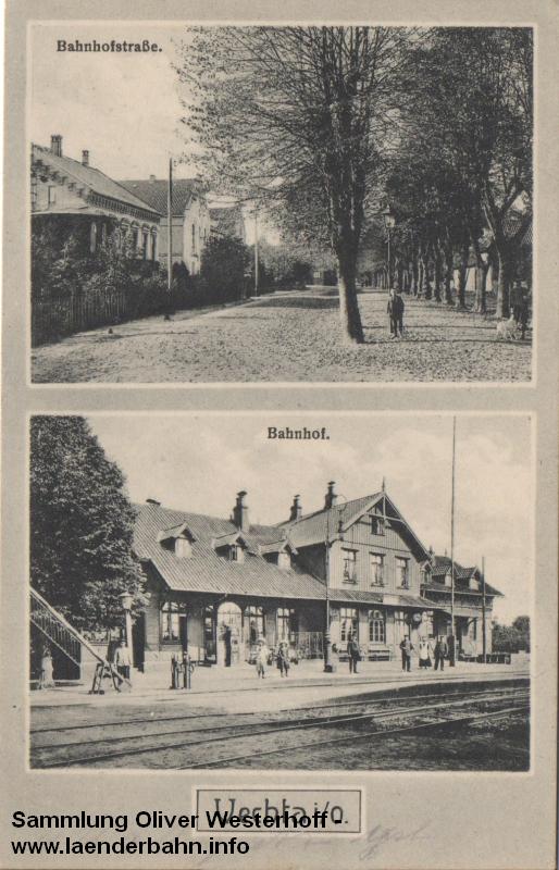 Auf Bahnhof Vechta schloß die Kleinbahn von Cloppenburg an.