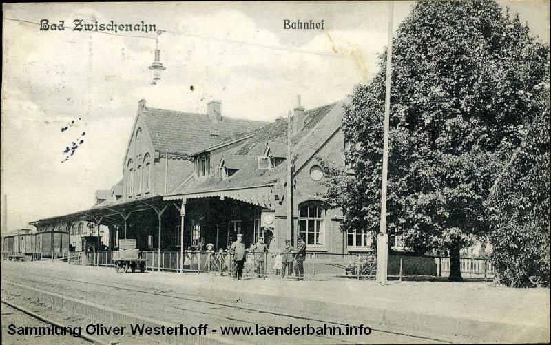 Bahnhof Bad Zwischenahn um 1915