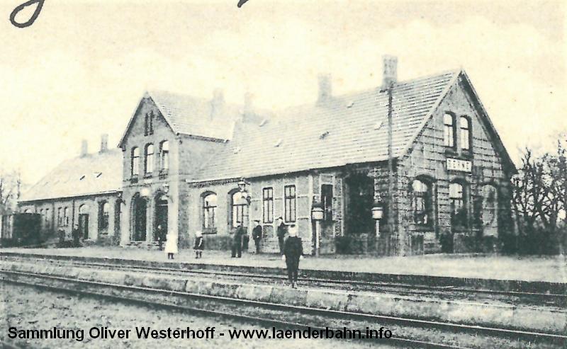 Die Bahnhofssicht aus der obigen Karte noch einmal vergrößert.