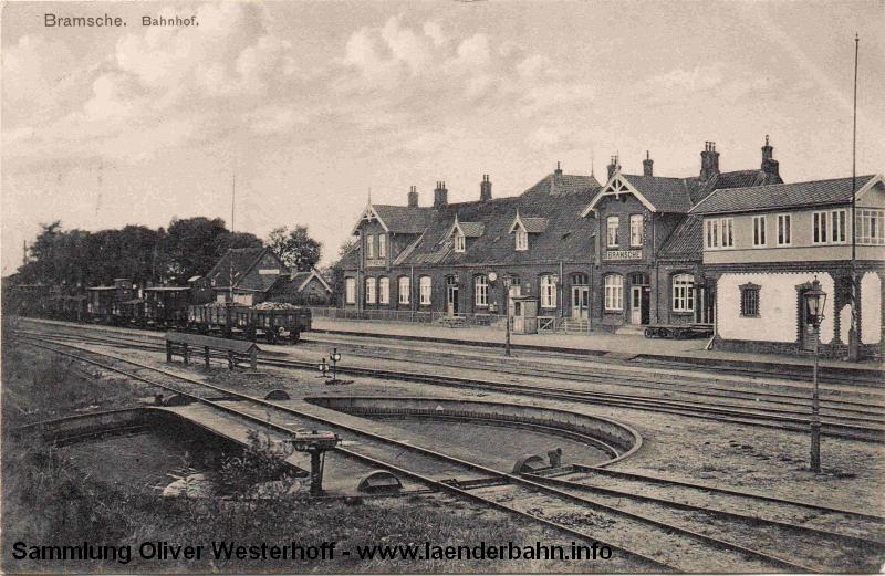 Ein weiterer Blick auf den Bahnhof, die Karte ist 1911 gelaufen.