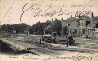 Der Bahnhof Bramsche