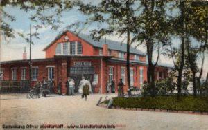 Provisorischer Bahnhof Oldenburg