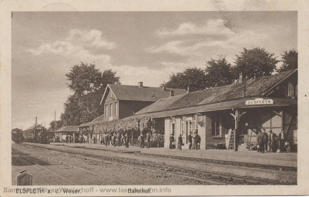 Erst 1934 gelaufen ist diese Ansichtskarte, das Bild ist aber vermutlich deutlich älter.