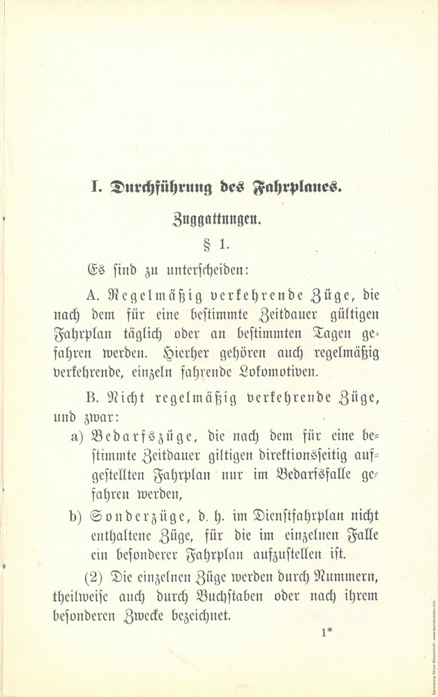 1897 - Durchführung des Fahrplanes und die Behandlung außerplanmäßiger Fahrten - Seite 3