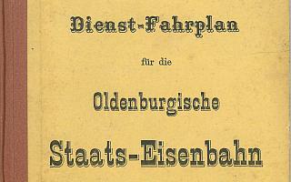 1887 - Dienstfahrplan