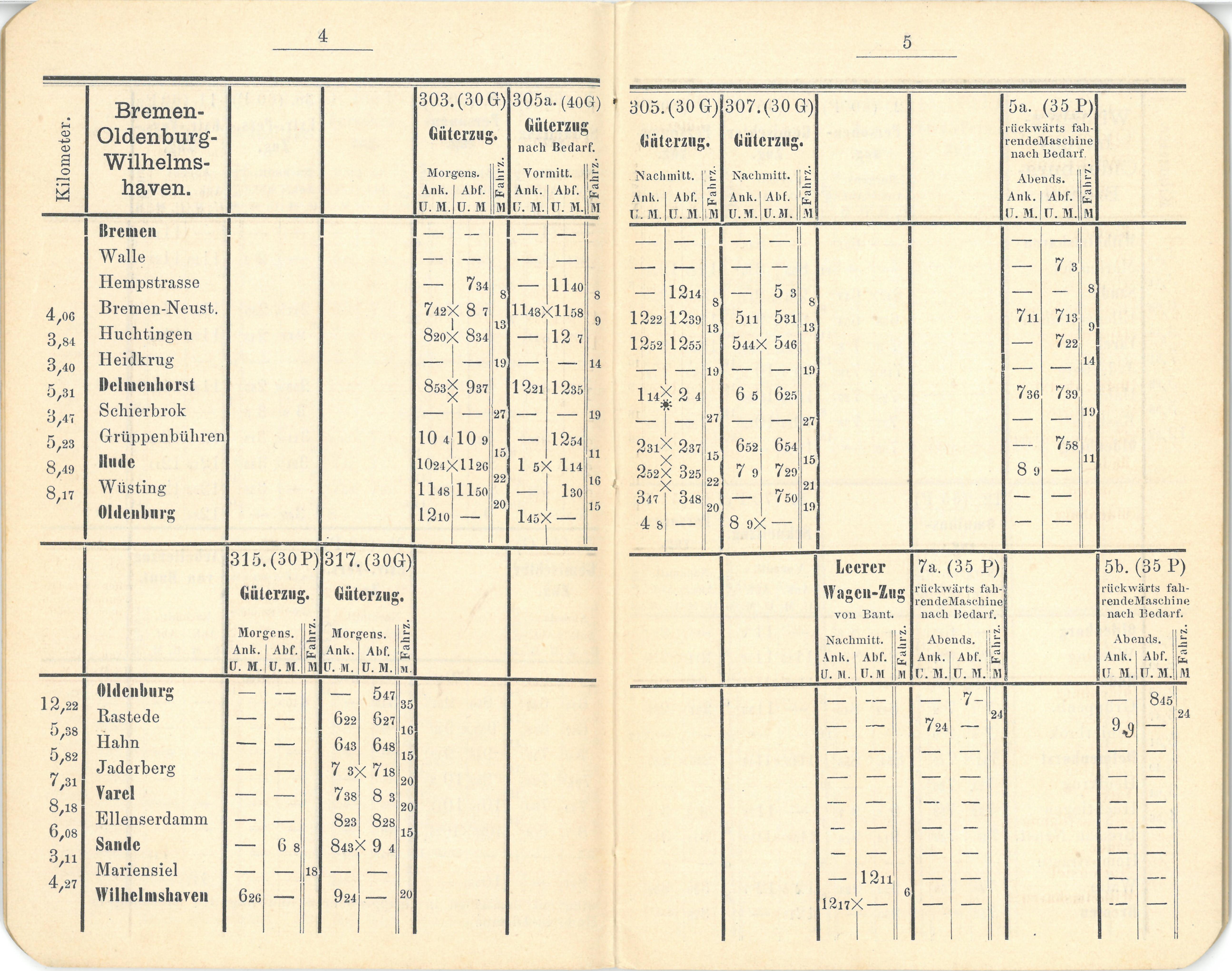 1887 - Dienstfahrplan - Seite 4