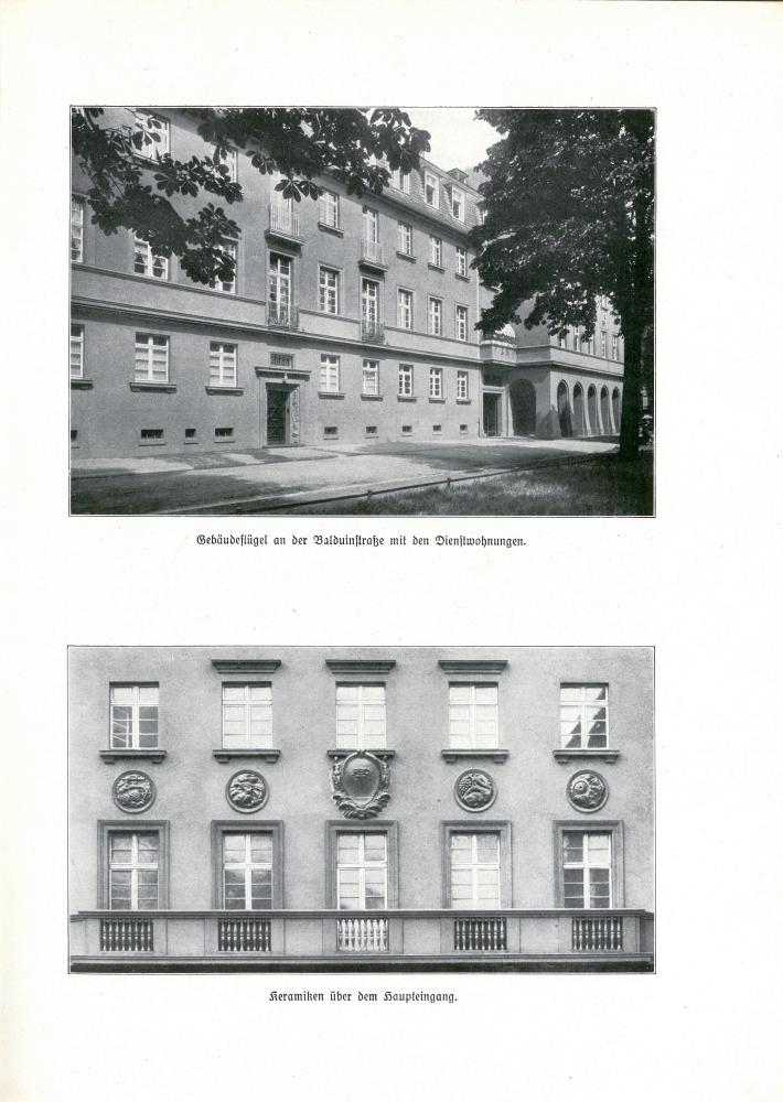 1925 Denkschrift zur Einweihung des Direktionsgebäudes der RBD Trier - Seite 7