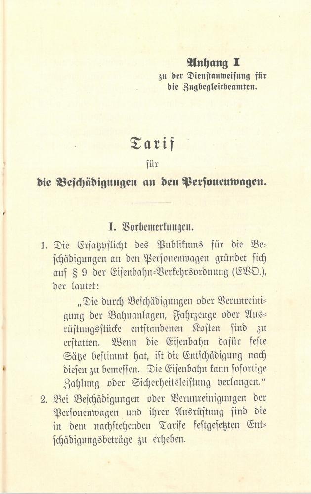 1909 - Dienstanweisung für die Zugbegleitbeamten - Seite 21