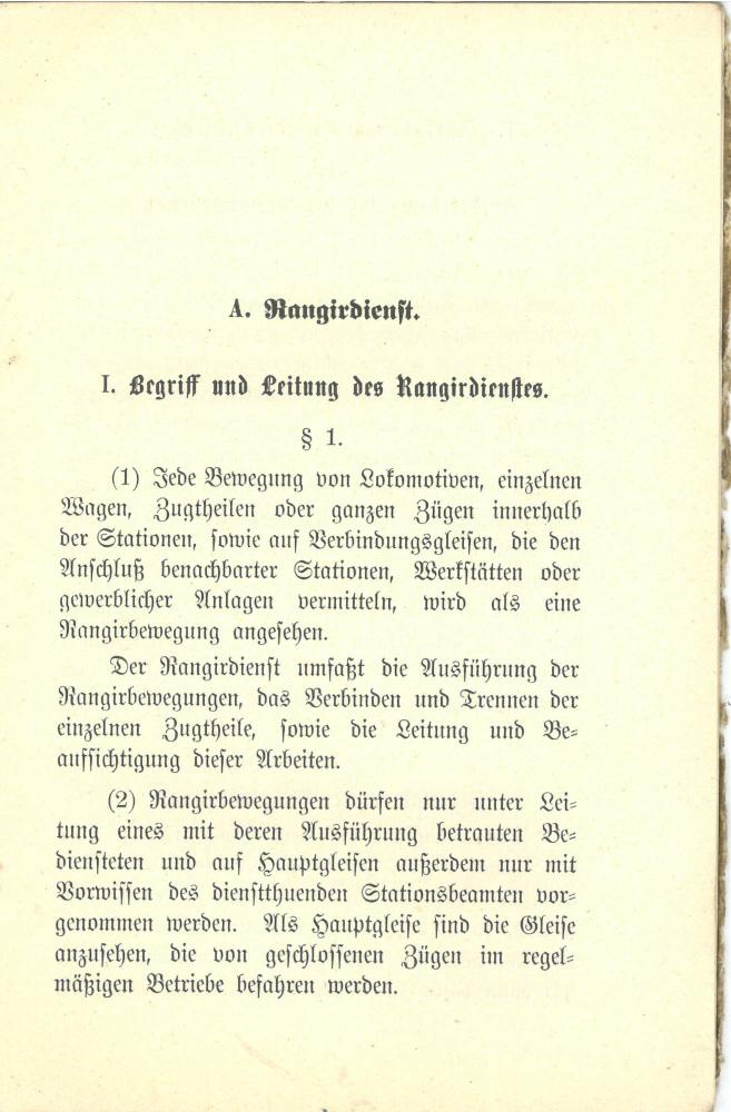 1897 - Vorschriften über den Rangierdienst und die Zusammensetzung der Züge - Seite 5