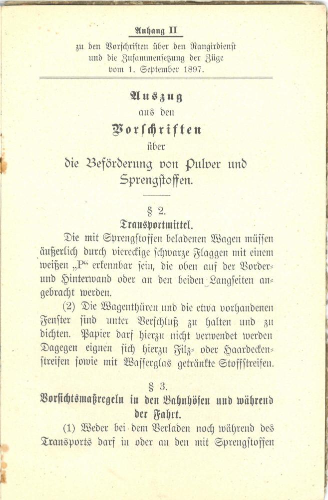 1897 - Vorschriften über den Rangierdienst und die Zusammensetzung der Züge - Seite 19