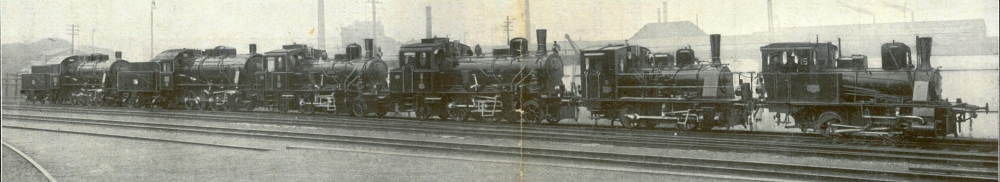 Der Ausschnitt des Bildes in den Hanomag-Nachrichten zeigt den gesamten Zug