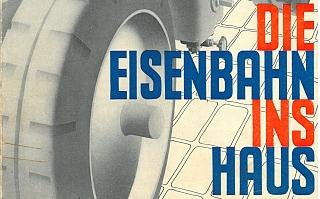 1935 - Die Eisenbahn ins Haus (Werbeprospekt)